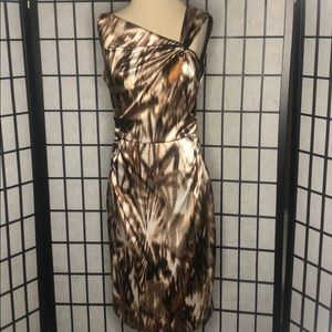 Maggy London Animal Print Dress
